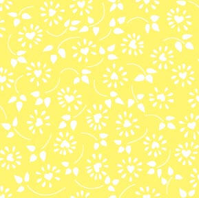 Daisy Heart Yellow